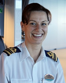 Royal Caribbean cruise ship 1st Officer
