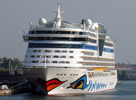 Aida Bella cruise ship