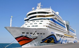 AIDAblu cruise ship jobs