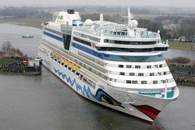 Aida Luna cruise ship
