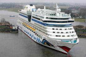 Aida Luna cruise ship