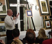 cruise ship art auctioneer