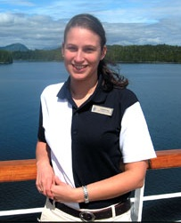 Assistant cruise director Holland America Line