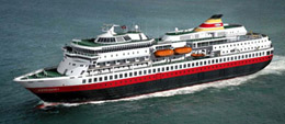 Trollfjord ship