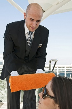 Pool Butler jobs on cruise ships