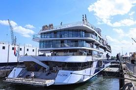 Celebrity Flora mega yacht