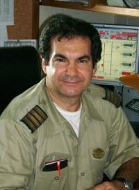 Cruise ship staff chief engineer