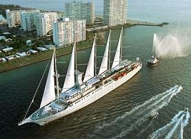 Club Med 2 cruise tall ship