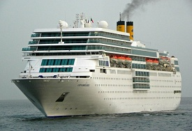 Costa neoRomantica cruise ship employment