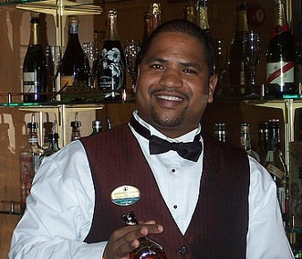 Cruise ship bartending
