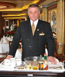 Cruise ship buffet-casual-dining-menager