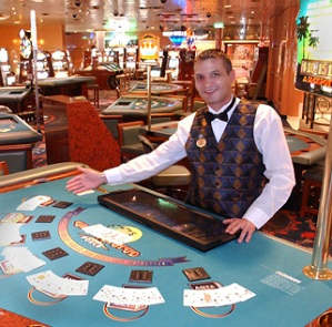 carnival cruise casino dealer salary