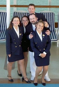 cruise ship employees