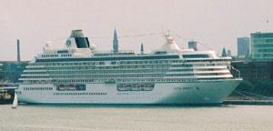 Crystal Cruises-Crystal Serenity ship