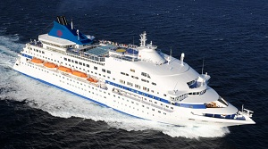 Cuba Cristal cruise ship serving Havana