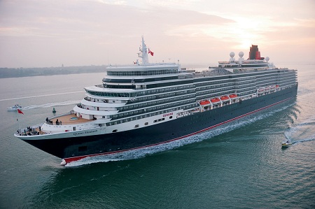 Cunard Line S Queen Elizabeth To Meet The Legendary Mary In Long Beach California