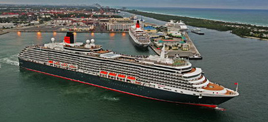 Cunard Line-Queen elizabeth cruise ship