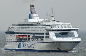 DFDS-Pearl Seaways ship