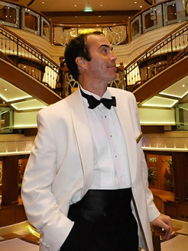 Cruise ship Dance Host - Cunard Line