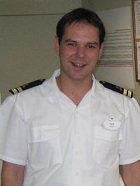 Cruise ship second engineer