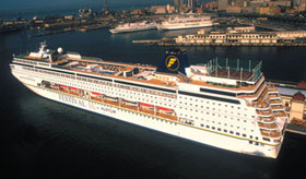 Festival Cruises-European Stars ship