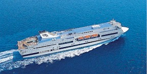 GNV-Splendid ship