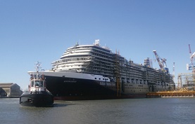 Holland America Line-Koningsdam cruise ship