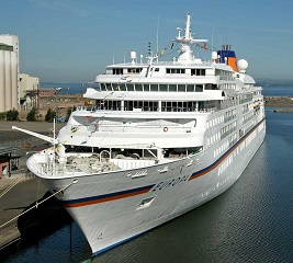 Hapag Lloyd Cruises luxury ship Europa