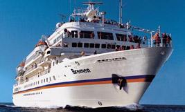 Hapag Lloyd-Bremen cruise ship