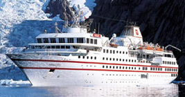 Hapag Llloyd-Hanseatic cruise ship