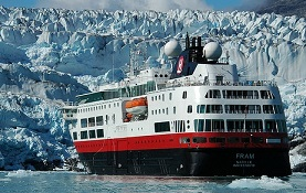 Hurtigruten Fram ship