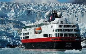 Hurtigruten Fram ship