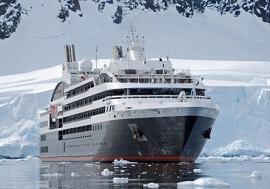 L Austral, luxury cruise ship - polar cruising