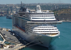 Splendida cruise ship