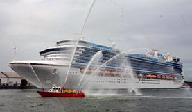 Princess Cruises-Crown Princess ship