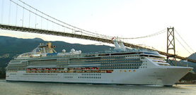 Princess Cruises-Island Princess ship