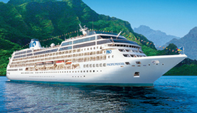 Princess Cruises-Pacific Princess ship