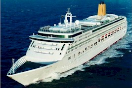 P&O-Aurora cruise ship