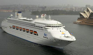 PO Australia Pacific Jewel cruise ship