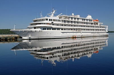 Canadian Built Cruise Ship Pearl Mist Is Finally Delivered