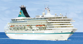 Artania cruise ship