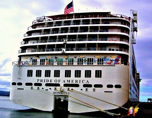 Norwegian Cruise Line's only US flagged cruise ship - Pride of America