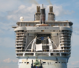 Royal Caribbean-Oasis of the Seas cruise ship
