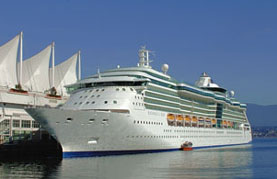 Radiance of the Seas-RCI ship