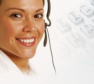 Cruise ship room service phone operator