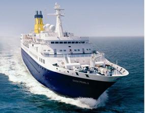 Saga Pearl 2 cruise ship