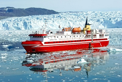 Sarfaq Ittuk ship in Greenland