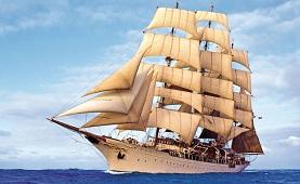 Sea Cloud sailing ship