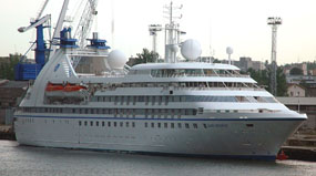 Seabourn Pride cruise ship