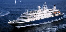 SeaDream 2 cruise ship